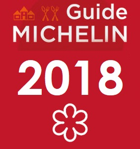Guide Michelin 2018 1 étoile